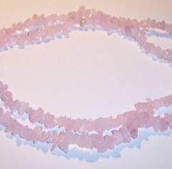 Colier din cuart roz