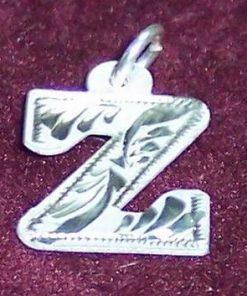 Pandantiv din argint cu initiala -Z-- model deosebit!