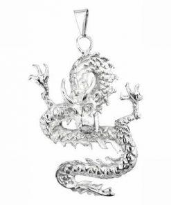 Dragonul imperial din inox - pandantiv unisex