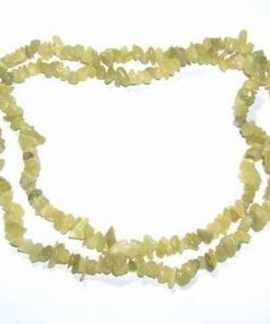 Colier din jad - lung