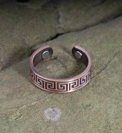 Inel din cupru cu simbolul sanatatii si magneti