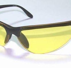 Ochelari de soare, cu rama din plastic si lentila galbena