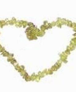 Bratara din  olivina, pe elastic
