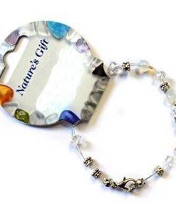 Bratara din cristale de opal industrial si accesorii