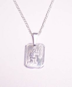 Pandantiv din argint pentru femei - Sagetator