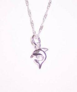 Pandantiv din argint - delfinul norocos