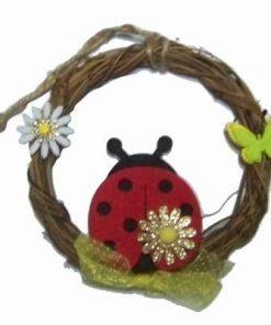Ornament Feng Shui cu buburuza norocoasa