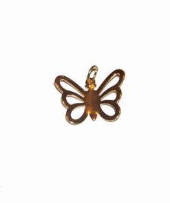 Pandantiv placat cu aur - Fluturas