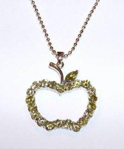 Mar Feng Shui placat cu aur alb si cristale tip olivina