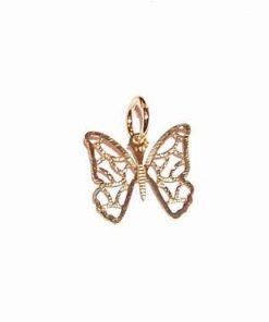 Pandantiv placat cu aur - Fluturele Eliberarii