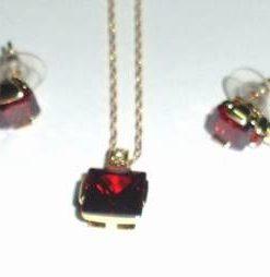 Set de bijuterii placate cu aur de 14k - model unicat!
