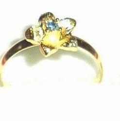 Inel placat cu aur de 14k, pentru copii - model unicat!