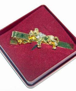 Ac de cravata cu zodia Taur, placat cu aur de 14k - unicat!