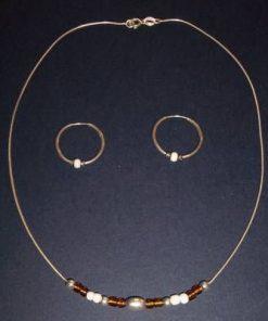 Set din argint - Model unicat