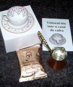 Viitorul tau intr-o cana de cafea - kit complet - romana