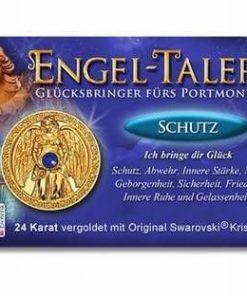 Ingerul Protectiei - amuleta norocoasa placata cu aur de 24